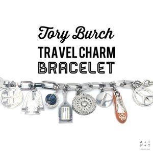 Tory Burch Travel Charm Bracelet